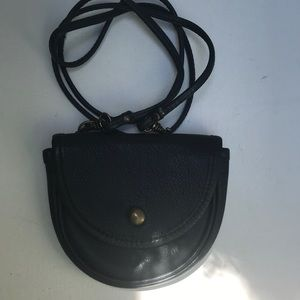 Bloomingdales Italian made leather bag